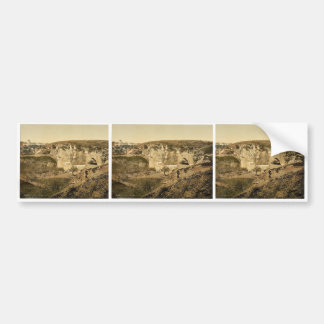 Jeremiah's grotto, Jerusalem, Holy Land, (i.e. Isr Bumper Sticker