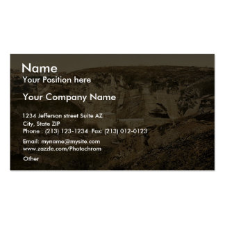 Jeremiah's grotto, Jerusalem, Holy Land, (i.e. Isr Business Card Templates