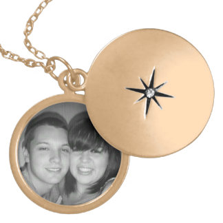 Jeremy and Kristen Gold Plated Necklace
