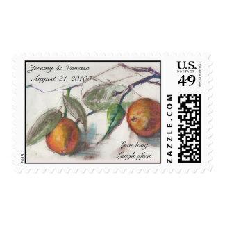 Jeremy and Vanessa Wedding Stamp