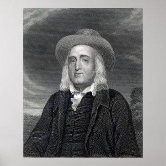 Jeremy Bentham de la 'galería de los retratos Póster