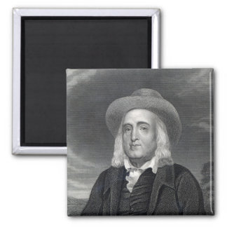 Jeremy Bentham  from 'Gallery of Portraits' Magnet