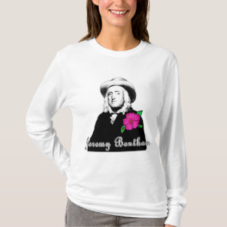 Jeremy Bentham with Tropical Flower T-Shirt