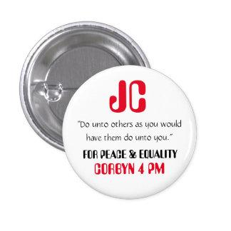 """Jeremy Corbyn """"hace a otros"""" el Pin de la insignia"""