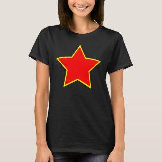 JEREMY CORBYN RED STAR WOMENS TEE