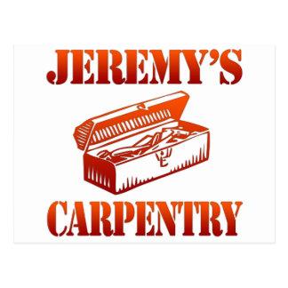 Jeremy's Carpentry Postcard