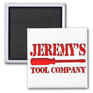 Jeremy's Tool Company 2 Inch Square Magnet