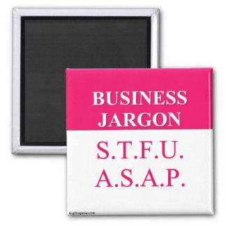Jerga de comprensión del negocio (3) imán de frigorífico