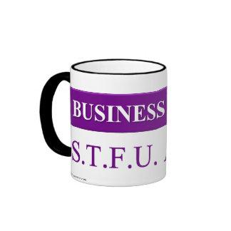 Jerga de comprensión del negocio taza