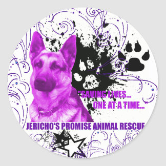 Jericho s Promise Aimal Rescue Sticker