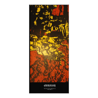 """Jericho"" Value Bookmark Rack Card Design"
