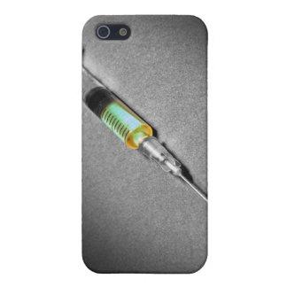 Jeringuilla de mirada sospechosa iPhone 5 carcasa