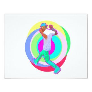 JERK DANCE logo Card