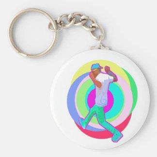 JERK DANCE logo Keychain
