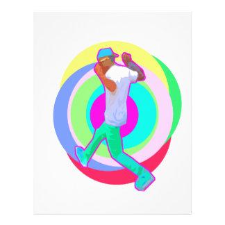 JERK DANCE logo Letterhead