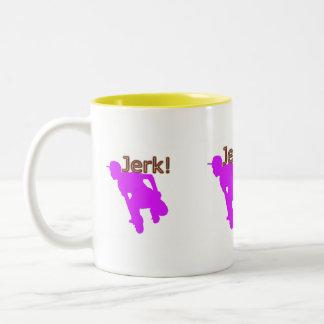 jerk Two-Tone coffee mug