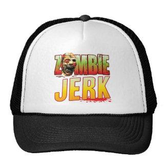 Jerk Zombie Head Mesh Hat