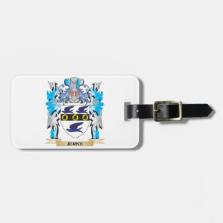 Jerke Coat of Arms - Family Crest Luggage Tag