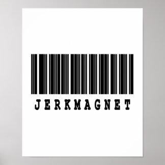jerkmagnet barcode design poster
