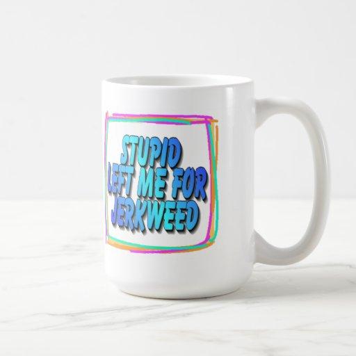 Jerkweed Gifts Classic White Coffee Mug