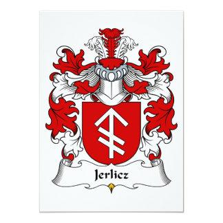 Jerlicz Family Crest Card