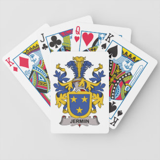 Jermiin Family Crest Bicycle Poker Deck