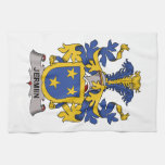Jermiin Family Crest Hand Towels