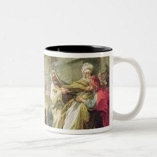 Jeroboam que sacrifica al becerro de oro, 1752 tazas de café