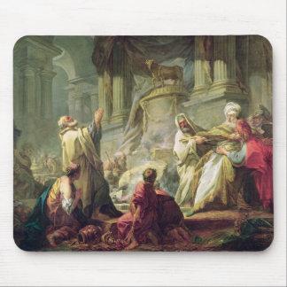 Jeroboam Sacrificing to the Golden Calf, 1752 Mouse Pad