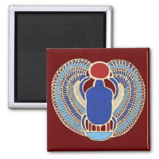 Jeroglífico de Tutankhamon Imán Cuadrado