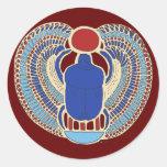 Jeroglífico de Tutankhamon Pegatinas