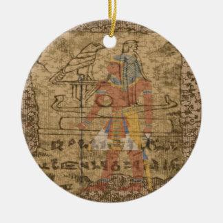 Jeroglífico egipcio ornato