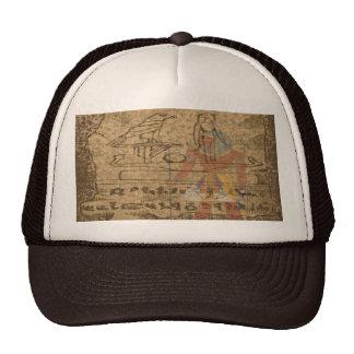 Jeroglífico egipcio gorras