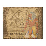 Jeroglífico egipcio impresión en lona