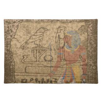 Jeroglífico egipcio manteles