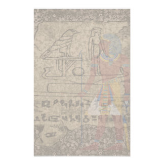 Jeroglífico egipcio papeleria