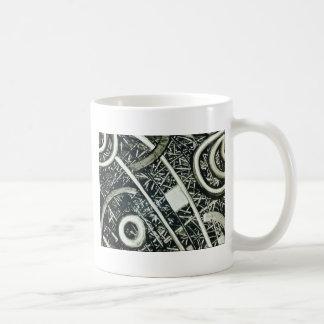 Jeroglífico metálico taza clásica