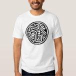 Jeroglífico mexicano (maya) camisas