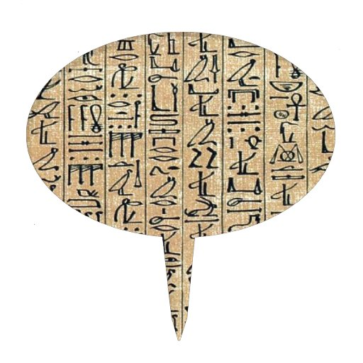 Jeroglíficos Hieroglifos Palillos De Tarta