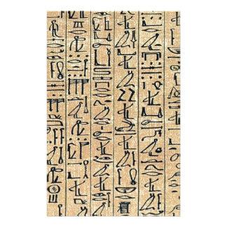 Jeroglíficos Hieroglifos Papelería