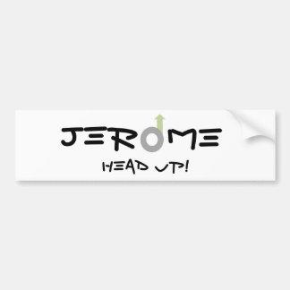 Jerome, AZ Bumper Sticker Car Bumper Sticker