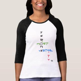 Jerome, AZ la mayoría de la camiseta vertical de