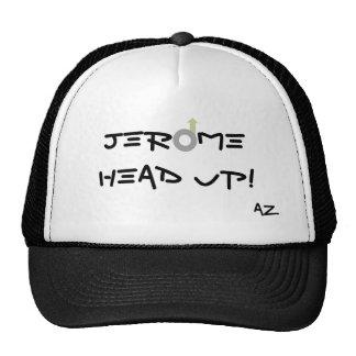 ¡Jerome, cabeza de AZ para arriba! Gorra