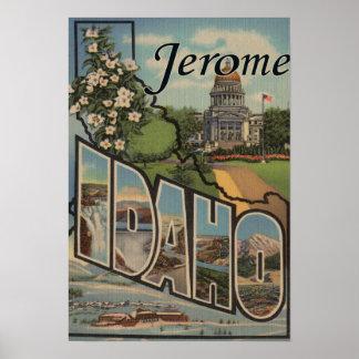 Jerome, IdahoLarge Letter ScenesJerome, ID Poster
