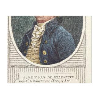 Jerome Petion de Villeneuve Lona Envuelta Para Galerias