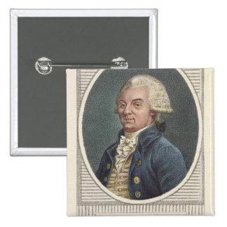 Jerome Petion de Villeneuve Pin Cuadrado