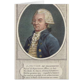 Jerome Petion de Villeneuve Tarjeta De Felicitación