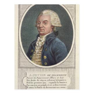Jerome Petion de Villeneuve Tarjeta Postal