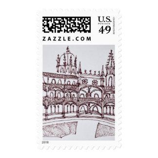 Jeronimos Monastery Cloister | Lisbon, Portugal Postage