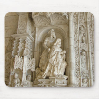 Jerónimos Monastery Statuary Mousepad